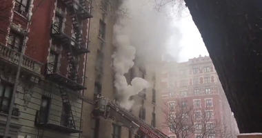 Upper West Side apartment fire