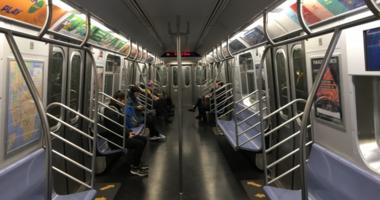 subway q train
