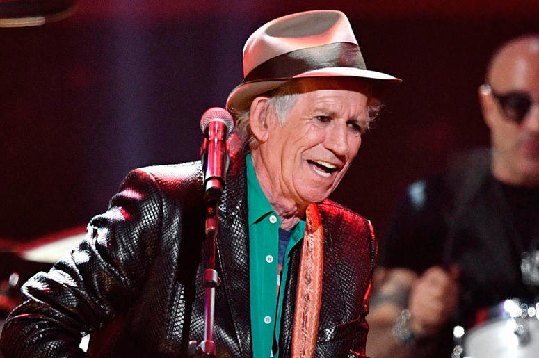 outlet store f2e7d 717ae Keith Richards: New Rolling Stones Album in 2018   WCBS-FM 101.1