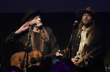 Willie Nelson and Lukas Nelson