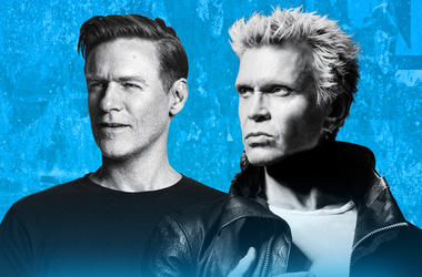 Bryan Adams & Billy Idol