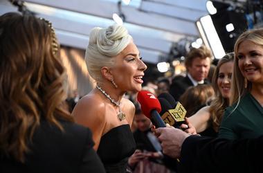 Lady Gaga at the 2019 Academy Awards