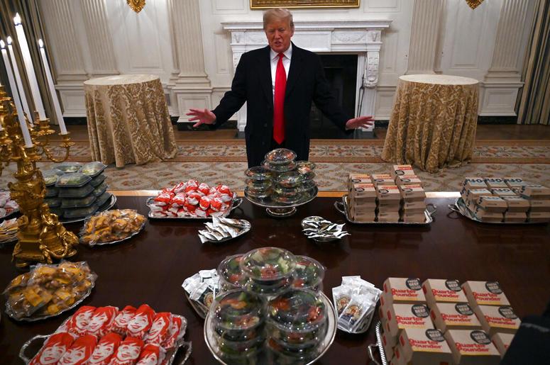 Donald Trump Burger Fest for Clemson Tigers