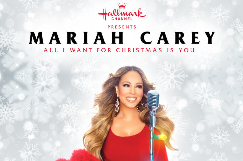 Mariah Carey Christmas Png.Listen For A Chance To Win Tickets To See Mariah Carey All