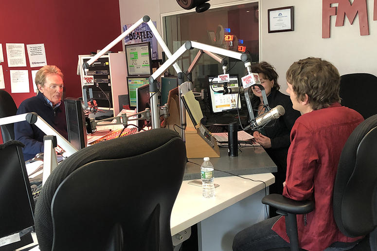 Rob Thomas In Studio with Scott Shannon and Patty Steele