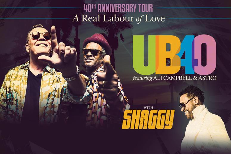 UB40 Tour 2019