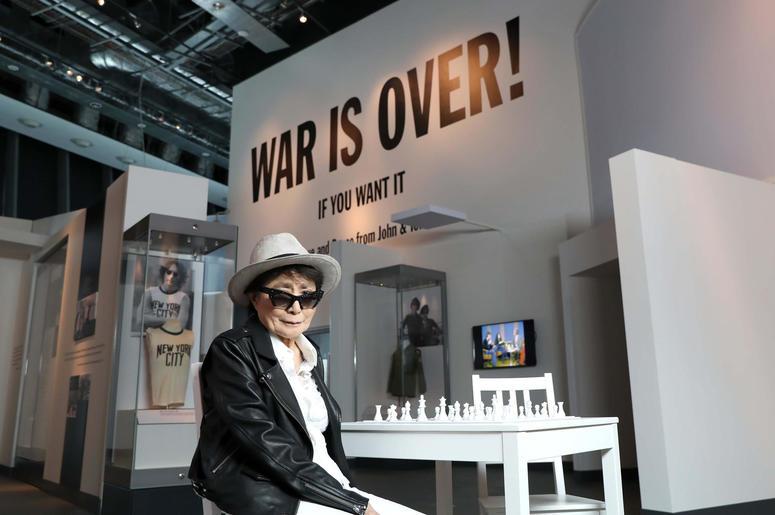 Yoko Ono at the Double Fantasy