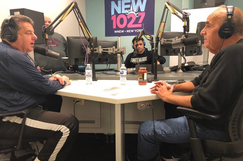 Steven Schirripa at WCBS-FM