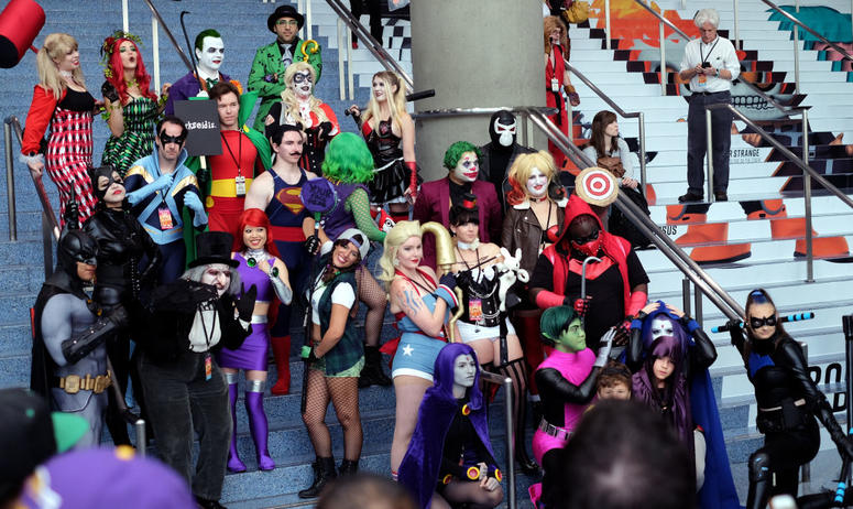 Comic Con Attendees