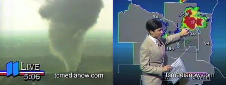 Tornado, KARE-11, 1986