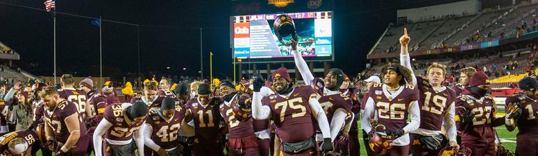Gallery: The 6-0 Minnesota Gopher Football Team by the numbers