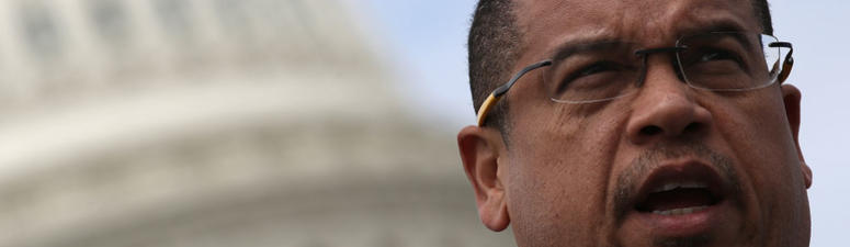 Why are hate crimes on the rise? Keith Ellison could answer in a five letter word