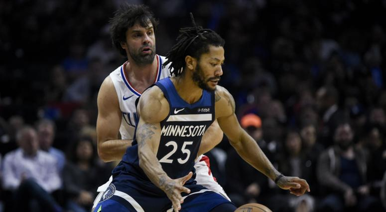 Derrick Rose against the Clippers