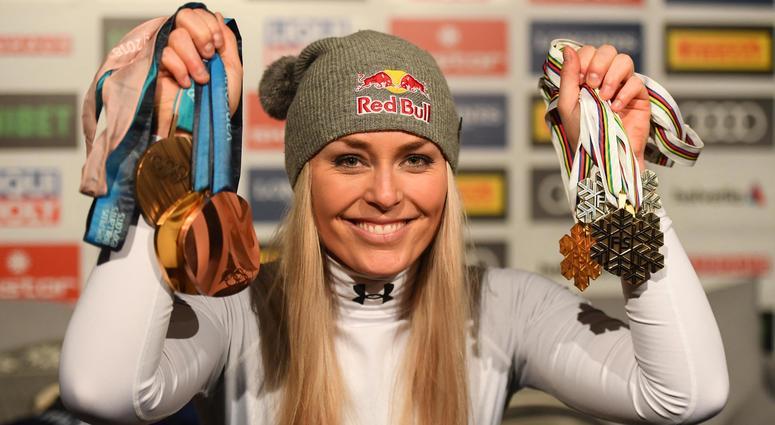 More medals for Lindsey Vonn
