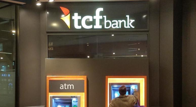 TCF Bank machine