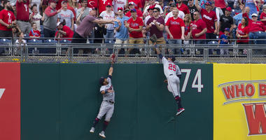 Hoskins home run is the difference in Twins loss to Phillies