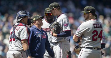 Twins work on mound strategy