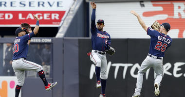 Twins outfielders in NYC