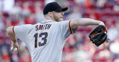 Giants closer Will Smith