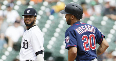 Twins get another homer from Eddie Rosario