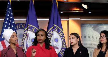 With her 'squad' beside her,  Rep. Ilhan Omar renews calls for Trump's impeachment