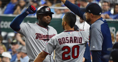 Miguel Sano after his home run