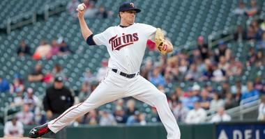 Twins righthander Kyle Gibson