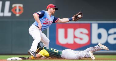 Logan Forsythe at second base