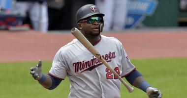Twins third baseman Miguel Sano