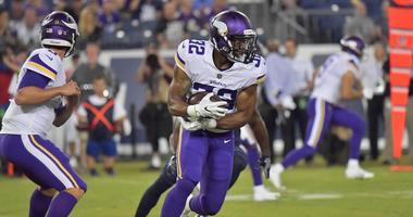 Vikings rookie running back Roc Thomas