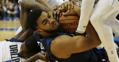 Karl-Anthony Towns of the Wolves