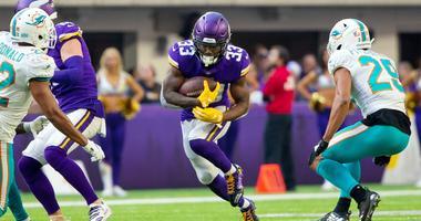 Vikings running back Dalvin Cook