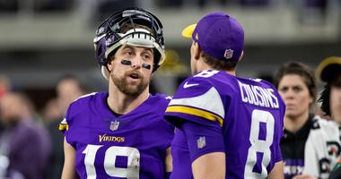 Sideline clash between Thielen and Cousins