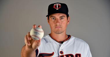 Twins pitcher Ryne Harper