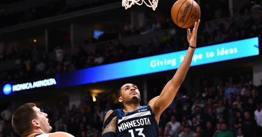 Nuggets beat Timberwolves 99-95 in season finale