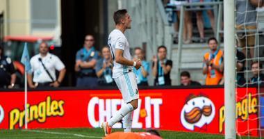 A winning goal by Ethan Finley