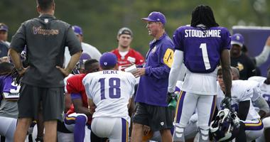 Vikings at training camp