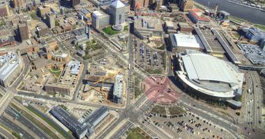 Saint Paul aerial view