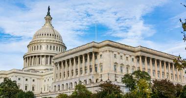 US Senate chamber at capitol building