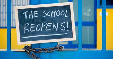 Washburn school reopens