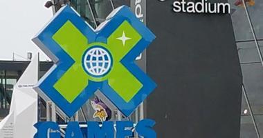 Logo for X Games at US Bank Stadium