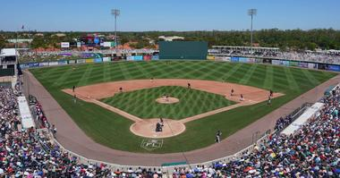 Twins spring training home