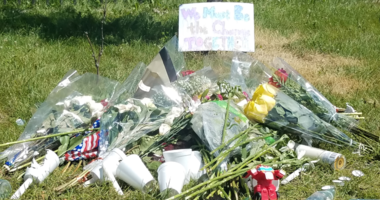 Memorial at Como Park for shooting death at Hmong festival