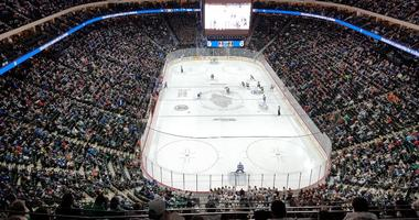 Full house at the X for high school hockey