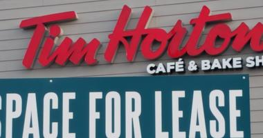Tim Hortons is closed