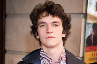 Fionn Whitehead arrives at The Inheritance press day at the Noel Coward Theatre, St Martins Lane, London.