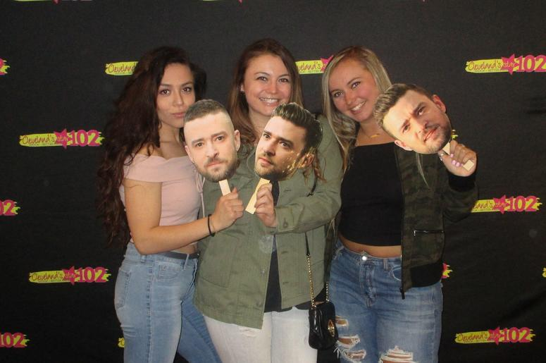 Can't Stop The Photos with Justin Timberlake - March 31, 2018 at the Q