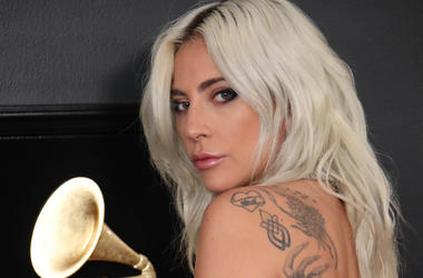 ady Gaga attends the 61st Annual GRAMMY Awards