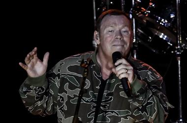 UB40 singer Ali Campbell performs