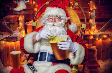 Christmas movie santa